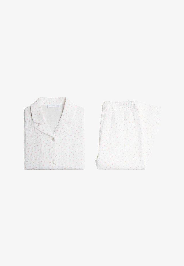 ROSE - Nattøj sæt - cremeweiß