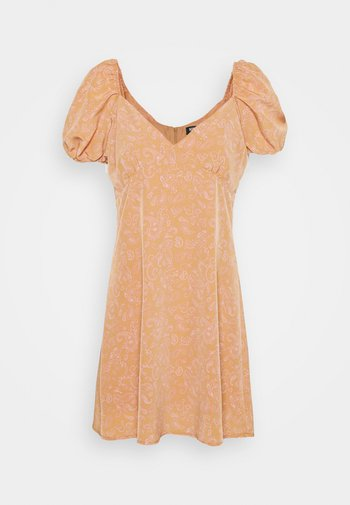 COMBARRO DRESS - Day dress - brown