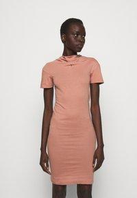 Vivienne Westwood - TUBE DRESS - Jersey dress - dusty pink - 0