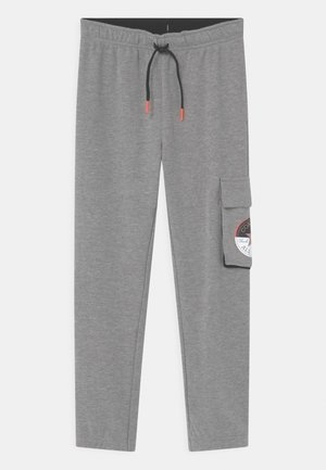 CHUCK PATCH UNISEX - Tracksuit bottoms - dark grey heather