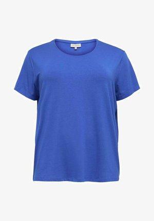 NOOS - Basic T-shirt - dazzling blue