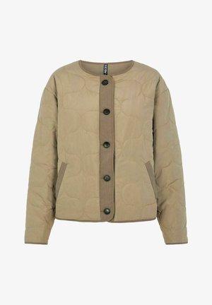 Light jacket - deep lichen green