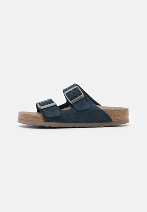 ARIZONA SOFT FOOTBED UNISEX - Kapcie - navy