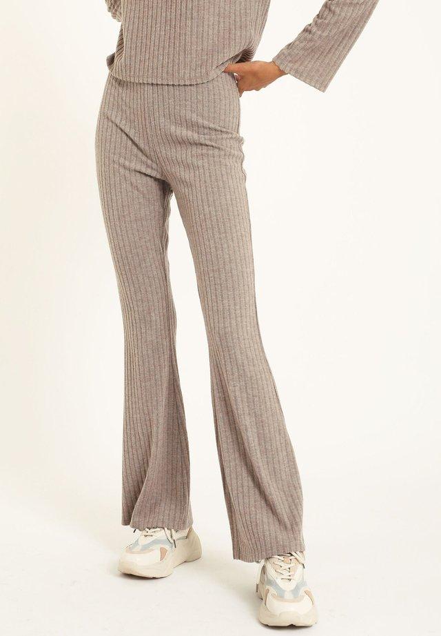 Trousers - perlgrau