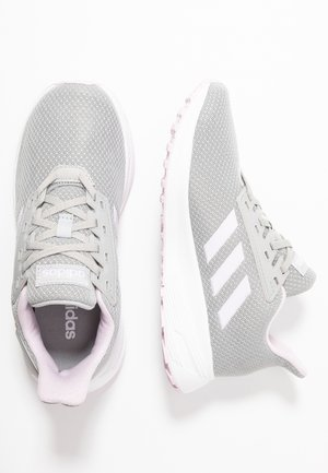 DURAMO 9  - Neutral running shoes - grey two/aero pink/footwear white