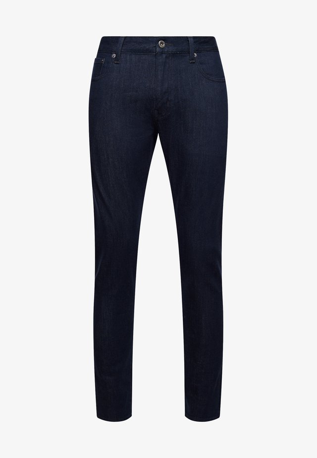 Slim fit jeans - larsen green blue rinse