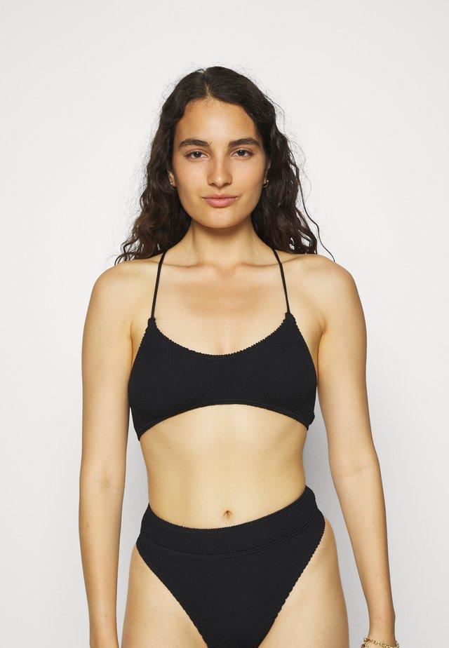 THE SELENA CROP - Bikiniöverdel - black
