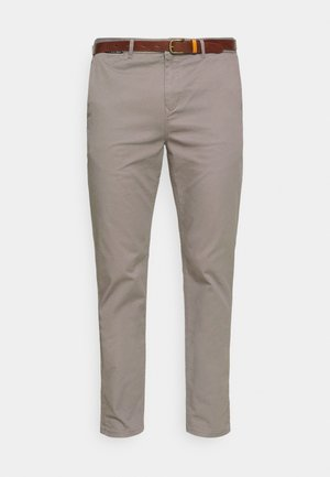 NEW BELTED  - Chino - grey