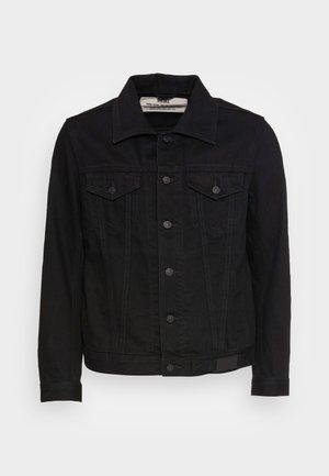 NHILL - Denim jacket - black