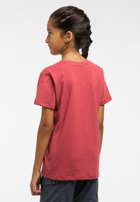 Haglöfs - CAMP TEE - Print T-shirt - brick red - 2