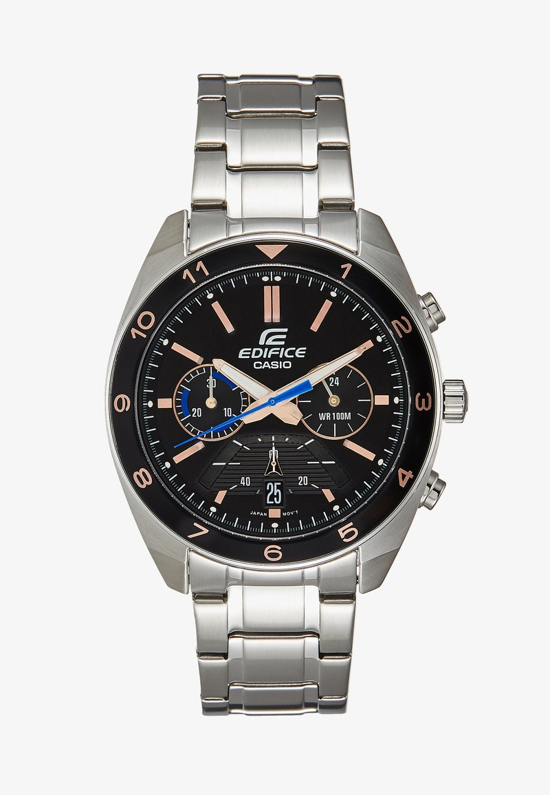 EDIFICE - CLASSIC SPORTY - Chronograph watch - silver