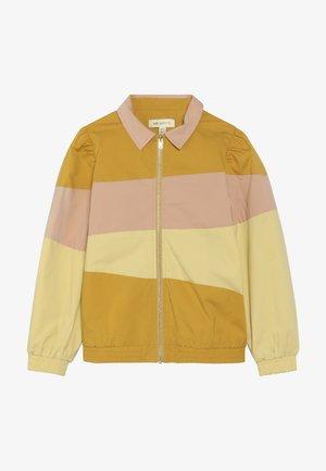 FIOLA JACKET - Bomber Jacket - yellow/pink