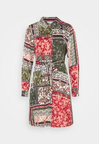 Vila - VIJOSE BLUME DRESS - Shirt dress - pine grove - 4