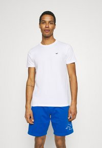 Hollister Co. - CREW SOLID - Basic T-shirt - white - 0