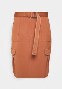 Holzweiler - STRANDA SKIRT - Pouzdrová sukně - terracotta - 3