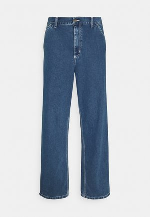 SIMPLE PANT NORCO - Jeans a sigaretta - blue stone washed