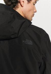 The North Face - DRYZZLE FUTURELIGHT JACKET - Hardshell jacket - black - 5