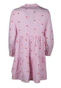 Zwillingsherz - Day dress - rosa/weiß - 1