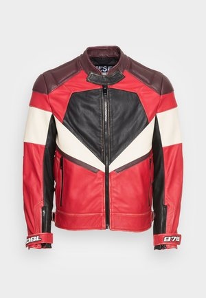 L TEAM - Leather jacket - red