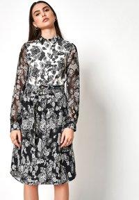 DESOTO - Shirt dress - white/dark blue - 0