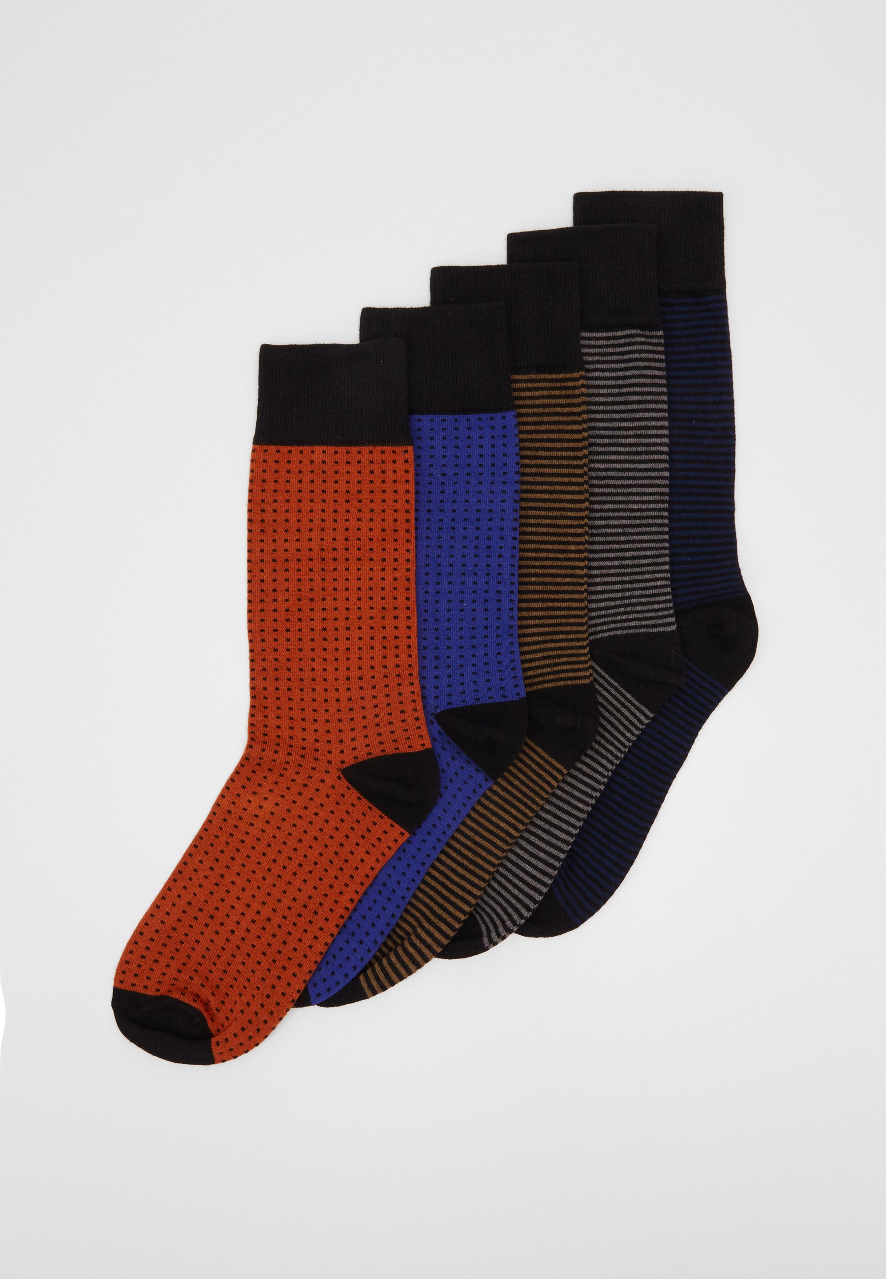 Donna STRIPES AND DOTS SOCKS 5 PACK - Calze