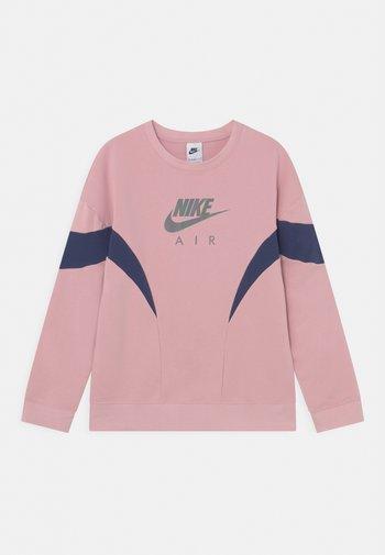CREW - Sweatshirt - pink glaze/midnight navy