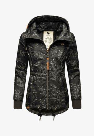 DANKA LEAVES - Outdoor jacket - black