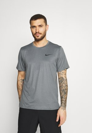T-shirt basic - black/smoke grey/heather/black