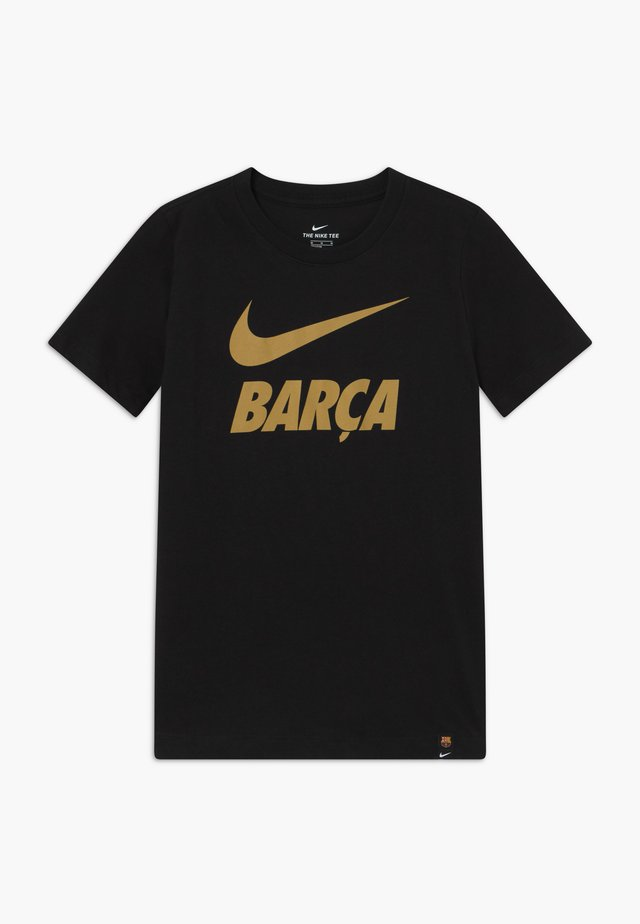FC BARCELONA TEE GROUND - Article de supporter - black