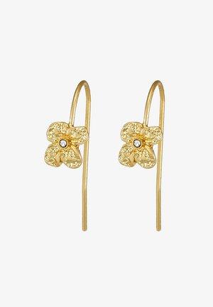EARRINGS JUSTINE - Náušnice - gold-coloured