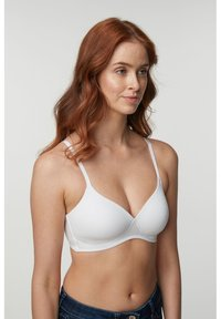 Next - DAISY LIGHT PAD NON WIRE COTTON BLEND BRAS 3 PACK - Underwired bra - black - 3