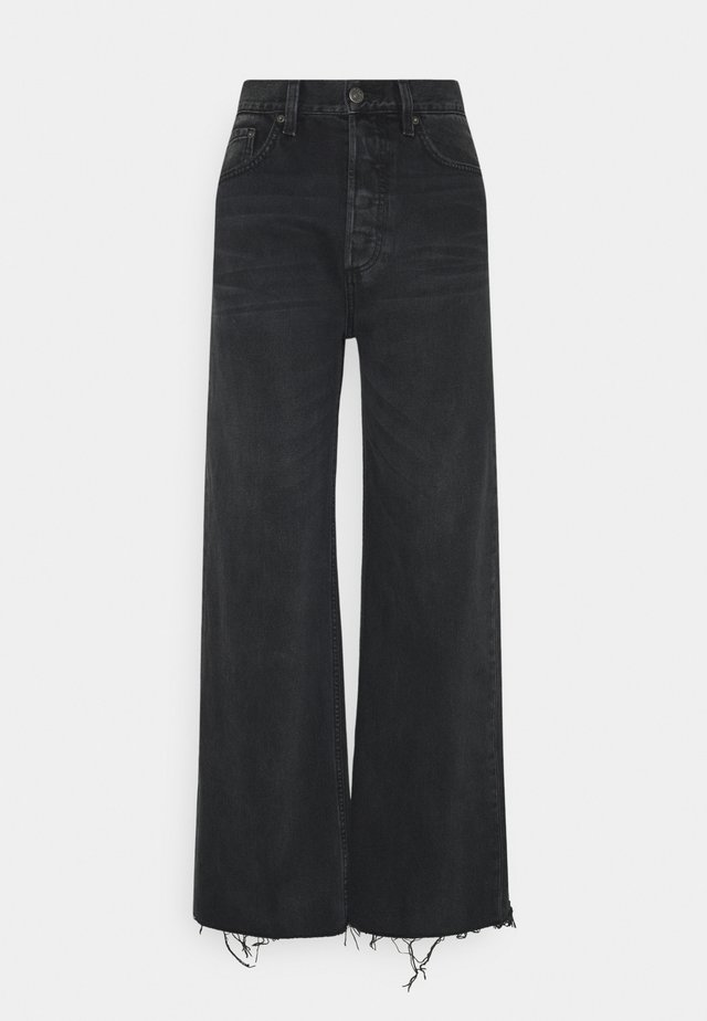 CHARLEY WIDE LEG - Flared Jeans - midnight cowboy