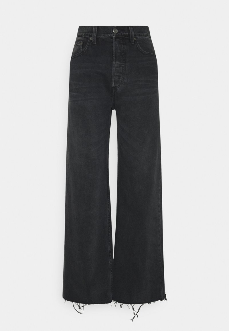 Boyish - CHARLEY WIDE LEG - Flared Jeans - midnight cowboy