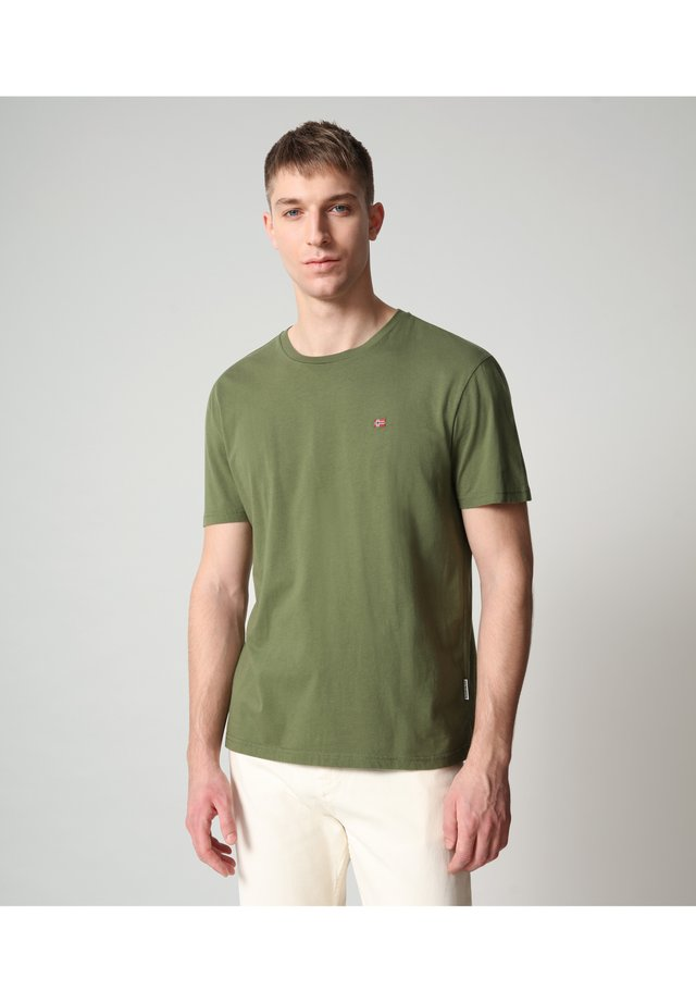 SALIS - T-shirt basique - green cypress