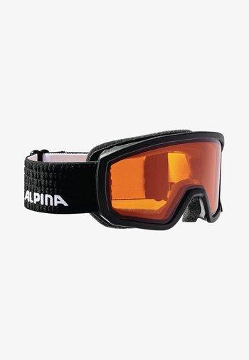 SCARABEO - Ski goggles - black