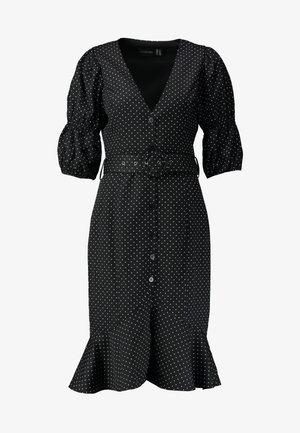 THE RENDEZVOUS DRESS - Shirt dress - polka dot