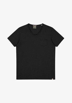 STEWART  - Basic T-shirt - black