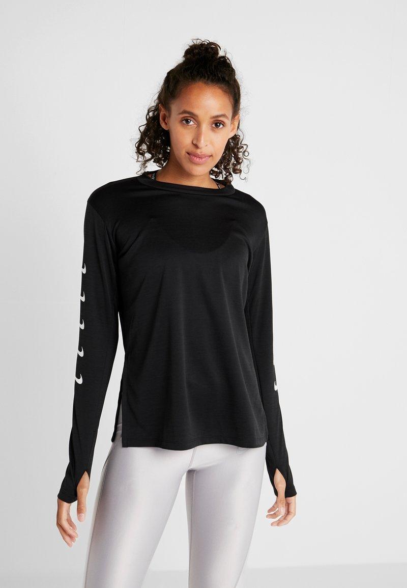 Nike Performance - Long sleeved top - black
