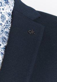 Calvin Klein Tailored - DOUBLE STRUCTURE - Blazer jacket - blue - 6