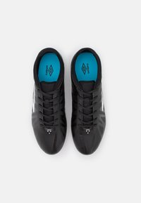 Umbro - VELOCITA VI CLUB FG - Moulded stud football boots - black/white/cyan blue - 3