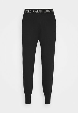 LOOP BACK - Pyjama bottoms - black guide