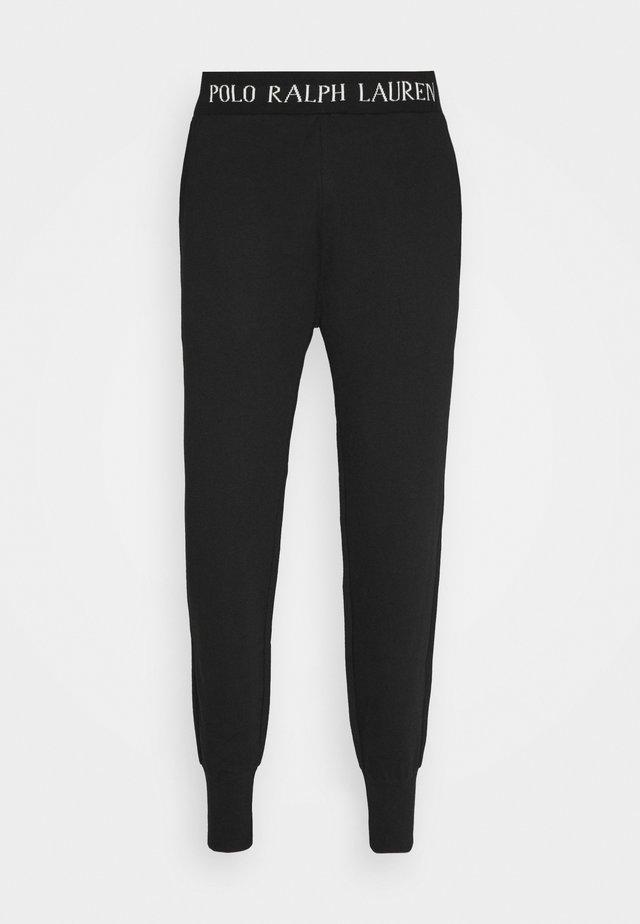 LOOP BACK - Bas de pyjama - black guide