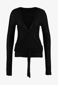 Deha - WRAP  - Jumper - black - 5