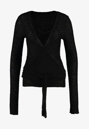 WRAP  - Jumper - black