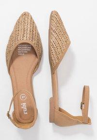 Rubi Shoes by Cotton On - ANKLE STRAP - Ankle strap ballet pumps - tan - 3