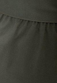 Bershka - A-line skirt - khaki - 5
