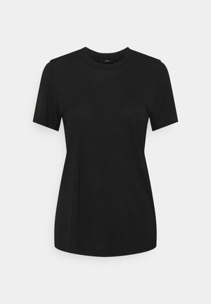 SILY - Print T-shirt - black