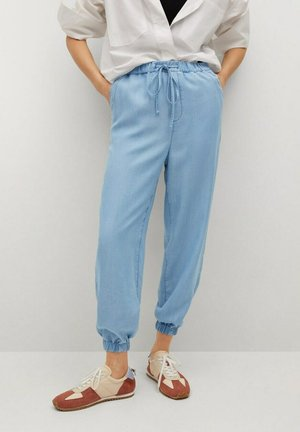 Tracksuit bottoms - azul medio