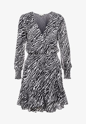 SAFARI DRESS - Vestito estivo - gunmetal