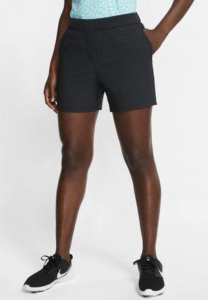 Pantaloncini sportivi - black/black